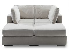 Movie Lounger sofa with Sandstorm Chevron Microterry Covers #Lovesac furniture