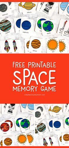 Space Activities For Preschoolers, Planets Activities, Solar System Activities, Space Theme Preschool, Space Activities For Kids, Solar System Crafts, Science Activities, Science Experiments, Solar System Games