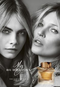 Cara Delevingne et Kate Moss pour Burberry Burberry Prorsum, Burberry Brit, Marca Burberry, Burberry Trench, Cara Delevingne, Kate Moss, My Burberry Perfume, Rock My Style, Style Uk