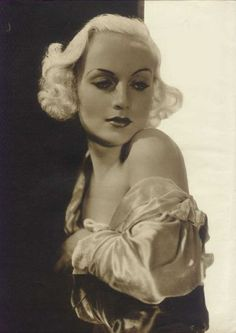 peaceful prey — mothgirlwings: Carole Lombard C. 1930s
