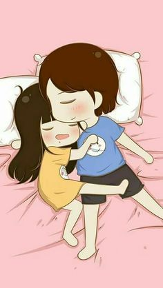 Cute Love Pictures, Cute Cartoon Pictures, Cute Love Gif, Cute Couple Drawings, Cute Love Couple, Cute Drawings, Love Cartoon Couple, Anime Love Couple, Cartoon Love Photo