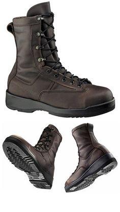 c82eb5a396 Belleville 330 ST Steel Toe Flight Boots Wet Weather Brown