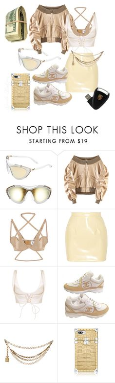 """""""I'm The Boss"""" by nicolebokser on Polyvore featuring Givenchy, UNIF, Miu Miu, Chanel and vintage"""