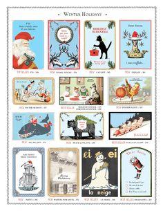 Winter Holidays Cards