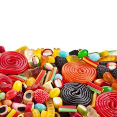 #ColourfulCandies - Colourful Jelly Candies.