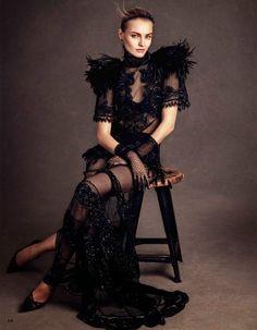 Anna Jagodzinska by Andreas Sjodin for Vogue Japan July 2014 | The Fashionography