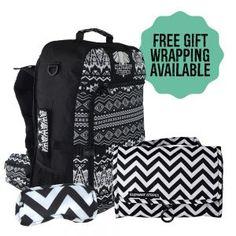 Shop Stylish Travel Packs at Elephant Stripes Travel Set, Travel Packing, Travel Style, Travel Accessories, Backpacking, Trek, Gym Bag, Great Gifts, Elephant