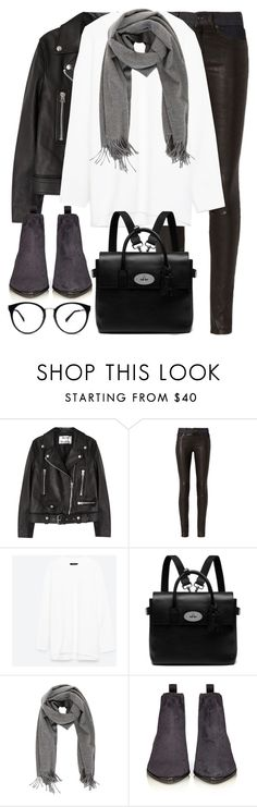 """Untitled #2872"" by elenaday on Polyvore featuring Acne Studios, rag & bone and Mulberry"