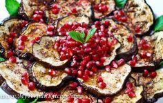 Eggplant & Pomergranate