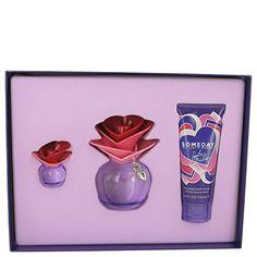 Someday by Justin Bieber Gift Set  34 oz Eau De Parfum Spray  34 oz Body Lotion  25 oz Mini EDP Women