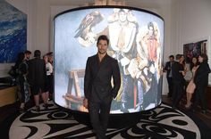 #DavidGandy at the @Dsquared2 party #LCM Day 2