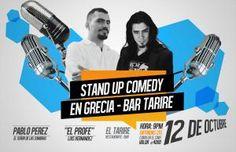 STAND UP COMEDY EN EL TARIRE CON EL PROFE Y PEREZhttp://desktopcostarica.com/eventos/2013/stand-comedy-en-el-tarire-con-el-profe-y-perez