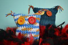 Give a hoot  Amigurumi Owls Stuffed Owl Toys by CherMeCreations on Etsy