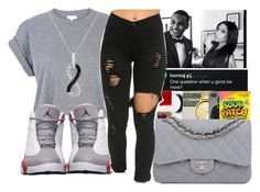 """"""""""" by thailyn-nicole ❤ liked on Polyvore featuring River Island, BP. and Sterling Essentials"""