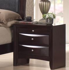 Skyline 2-drawer Nightstand | Overstock.com Shopping - The Best Deals on Nightstands