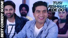 nice Best Comedy Video - Tusi Rishwat De Do | Latest Punjabi Movies 2015 | MySelf Pendu
