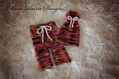Adorable Photo Prop Upcycled Newborn Set by MariaHarrisDesigns, $30.00