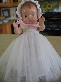 Effanbee Patsy Tinyette Doll - Vintage Doll - Composition Doll