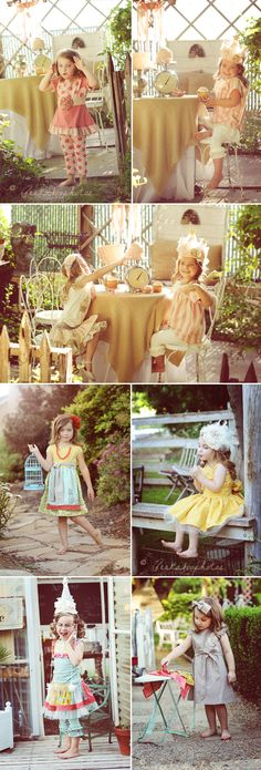 Persnickety. Spring 2012. Cutest little girl clothes EVER. Want them all for my g-daughters. (campaign photographed by Peekaboo Photos).