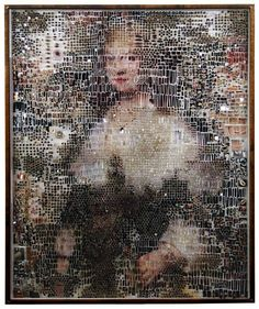 Michael Mapes - Portraits Emerge from an Incredible Collage of Objects - My Modern Metropolis