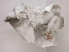 Timothy Hyunsoo Lee's Cut Paper Sculptures Dealing With Psychological Disorders And Religion
