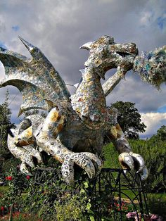 Love this! Soda can dragon by austinevan, via Flickr