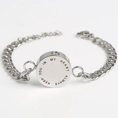 This cremation bracelet jewelry for loved ones is very nice design by our Marlary Jewelry and very hot sale latest. The round pendant has wording Jewelry Stores Near Me, Jewelry Sites, Jewelry Trends, Jewelry Bracelets, Sunflower Jewelry, Marcasite Jewelry, Silver Ring Designs, Memorial Jewelry, Discount Jewelry