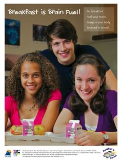 Great free Brain Fuel resources from North Carolina's Office of Child Nutrition