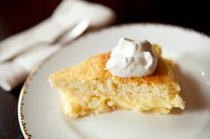 NYT Cooking: Lemon Pudding Cake
