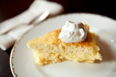 NYT Cooking: Lemon Pudding Cake