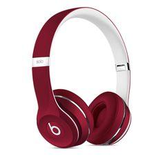 Auriculares abiertos Beats Solo2, Luxe Edition - Rojo