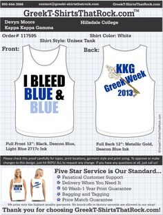 Kappa Kappa Gamma T-Shirts That Rock 117595proof ...................................................WORK 1 ON 1 with a member of our design team until your T-Shirt ideas are perfect.... and ALWAYS them on in time (before you even need them) at the price you want! ...................................................................................................... JUST CLICK THIS IMAGE TO GET STARTED!