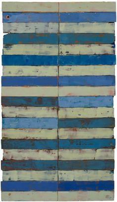 Daniella Woolf ~ Corniglia, 2007 (encaustic on wood)