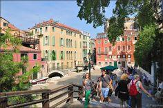 Venice : Campo San Vidal / Ponte dell'Accademia