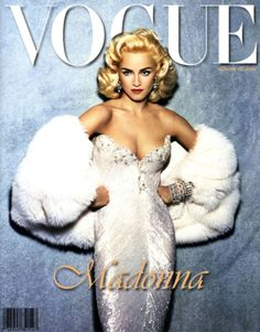 VOGUE!!!! wallpaper probably containing a fur collar in The Madonna Club