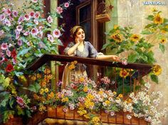 kwiaty na balkon - Szukaj w Google