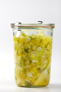 Cambodian-style cabbage pickle