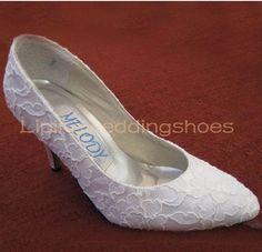 another shoe contender Bridal Shoes Online, Lace Bridal Shoes, Wedding Dresses Uk, Lace Wedding, Dream Wedding, Dress Up Shoes, Designer Wedding Shoes, Celebrity Dresses, High Heels