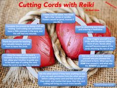 Cutting Cords with Reiki