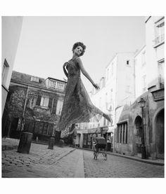 'Fly,' Dior Spring Collection, Dorothea McGowan for Harper's Bazaar, Paris, 1965, by Melvin Sokolsky