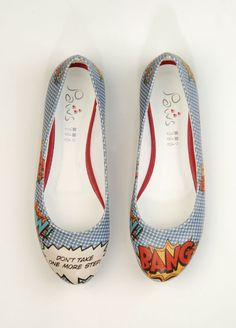 Dogo Store - Shoes  Ms. Dogo  Flats  Leather  Bang Bang- These shoes are delightful.