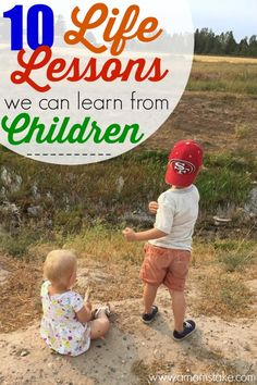 10 of the most valuable lessons we can learn from our children. #refreshingmoments #ad