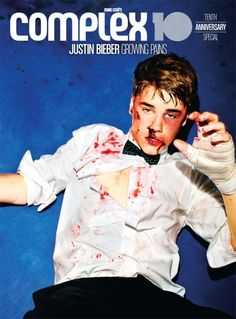 Complex mag Justin Bieber cover