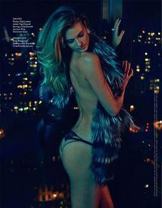Bildresultat för fur topless editorial fashion