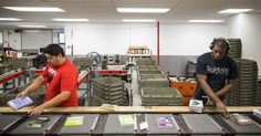 Libraries in New York and Seattle Area Staging a Battle of the Sorters - The New York Times