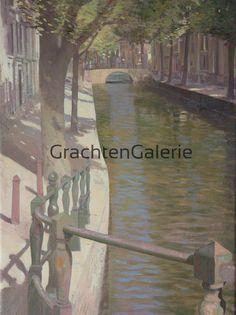 Edwin Aafjes | Thuiskomst | Art | Utrechtse grachten