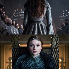 Queen in the north Sansa Stark Got Game Of Thrones, Game Of Thrones Quotes, Game Of Thrones Funny, Serie Got, Medici Masters Of Florence, Game Of Thrones Costumes, Game Of Trones, Epic Characters, My Champion