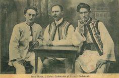Ion Moța, Ion Zelea Codreanu și Corneliu Codreanu