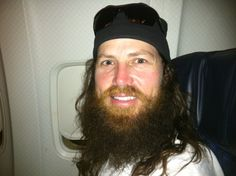 Duck Dynastys Jase Robertson.... He is smiling!!!