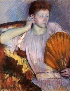 Contemplation - Mary Cassatt - The Athenaeum
